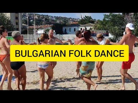 Bulgarian Folklore Dance GANKINO HORO / DJANGURITSA