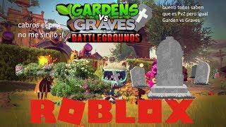 Plantas vs Zombies... bueno Garden vs Graves   Roblox