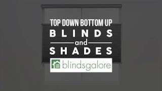 What are the Benefits of Top Down Bottom Up Shades?