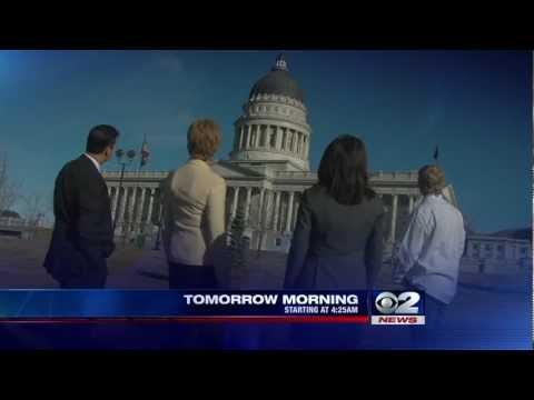TV Anchors Hang Out At Utah Capitol