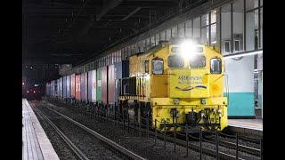 화물 제 3027열차 수원 통과