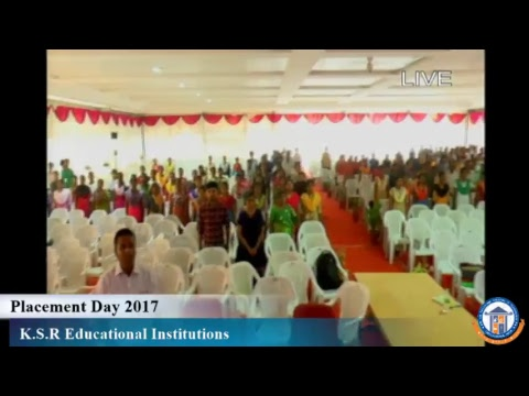 KSR Educational Institutions Placement Day 2017