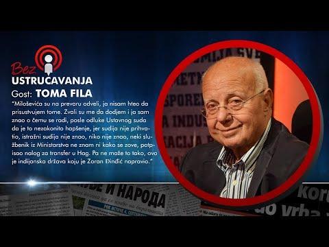 BEZ USTRUČAVANJA - Toma Fila: Srbija je indijanska država koju je napravio Zoran Djindjić!