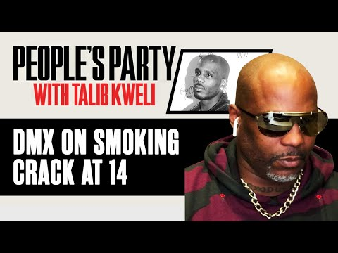 DMX On Getting Tricked Into Smoking Crack At 14 By His Rap Mentor | People's Party Clip
