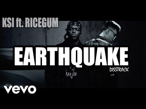 Ksi - earthquake Ft - RiceGum Official Karaoke/Lyrics
