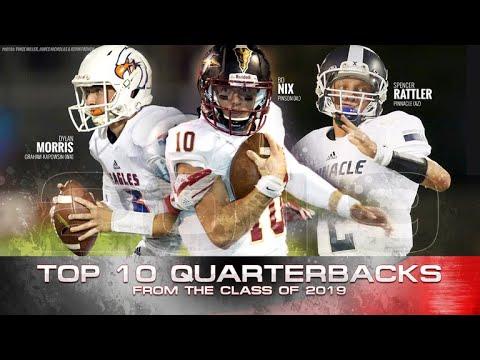 Best Quarterback 2019 Top 10 Quarterbacks in the 2019 Class   YouTube