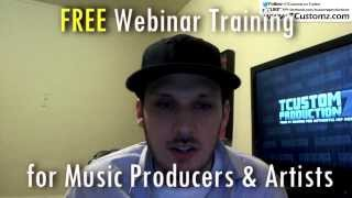FREE Weekly Webinar for Music Artists & Producers (Make Money w/ Your Music Online!)