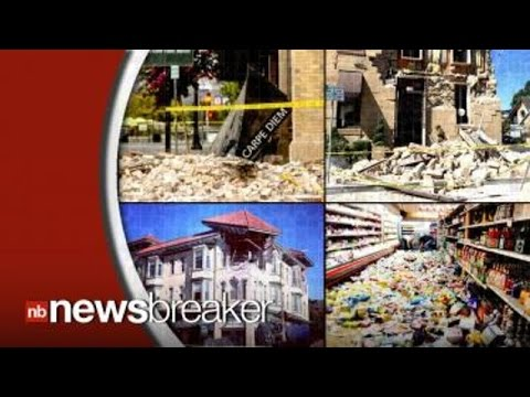 Aftermath: 6.0 Quake Rocks Napa County Damage Could Reach 1 Billion Dollars