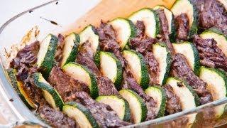 Говядина с Цуккини - как приготовить вкусный ужин - легкий рецепт