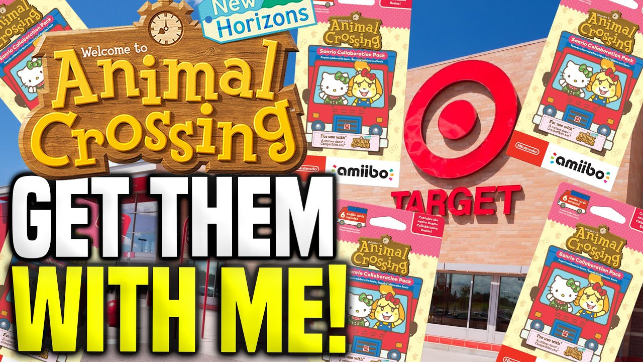 Animal Crossing's Sanrio Amiibo Cards Instantly Sell Out At Target