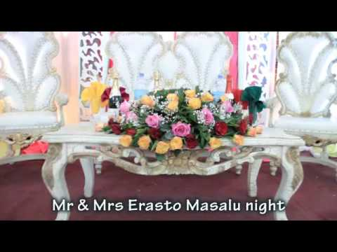 IT'S ALL ABOUT LOVE AND HAPPINESS . MR & MRS ERASTO MASALU'S RECEPTION .