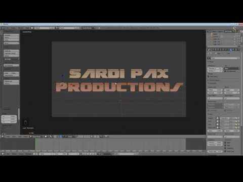 Blender 2.71 Tutorial - Create a Video Intro