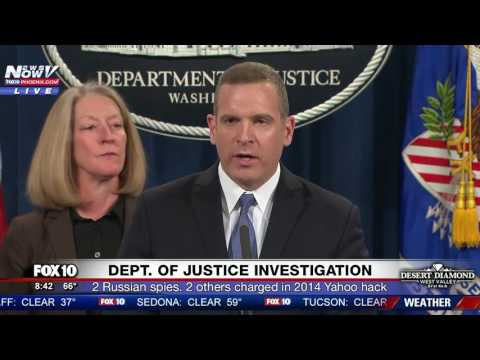 FNN: Justice Department Announces Charges Against Russian Spies Suspected of Hacking Yahoo Accounts