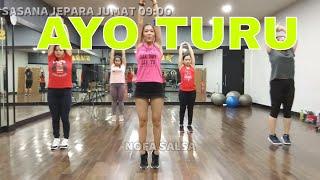 Download Lagu Senam aerobik terbaru Ayo turu mp3