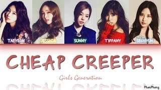 Download lagu Cheap Creeper — Girls' Generation 소녀시대, lyrics