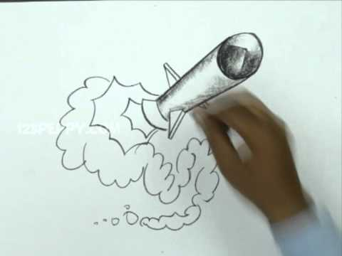 Missile Drawing How to Draw a M...