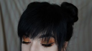 Space Buns / Twin Buns Tutorial (FOR SHORT HAIR) | Brenna Neal