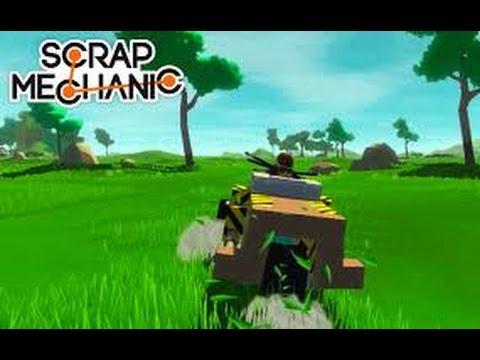 Scrap Mechanic #1. ???????? ??????.