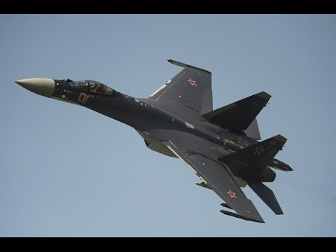RAW: Sukhoi Su-35 'UFO' fighter jet rocks China Airshow