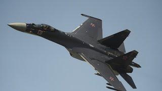 RAW: Sukhoi Su-35