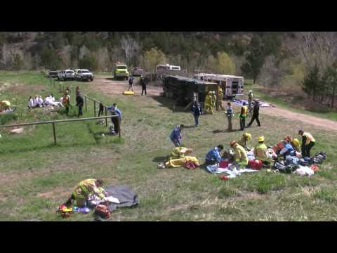 MASS CASUALTY TRIAGE EXERCISE IN JAMESTOWN