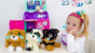 Download Настя и её новые игрушечные собачки с блохами Mp3 and Videos