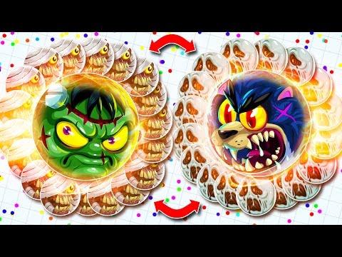 MEGA BAIT VS. BAIT IN AGAR.IO! IMPOSSIBLE *NEW* UNCUT TAKEOVER! (Agar.io)