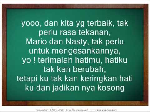 mario & nasty - never say goodbye (malay sub)