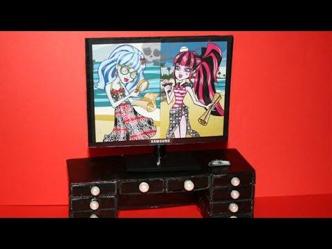 Видео как сделать телевизор для кукол фото 68
