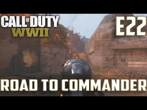 Call Of Duty World War 2(RTC)PS4 Ep.22-War On Operation Neptune(MP40 Gameplay
