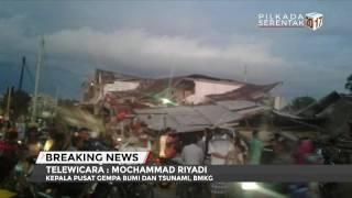 BMKG: Terjadi 10 Kali Gempa Susulan Di Pidie Jaya