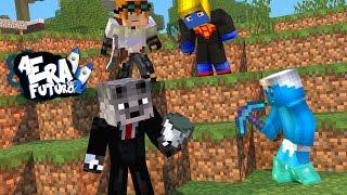 WOLFF É LOUCO, TÚNEIS SUBTERRÂNEOS - A ERA DO FUTURO 2 #7 ( Minecraft )