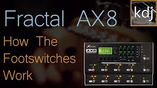 Fractal AX8 - How The Footswitches Work