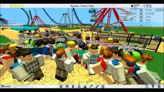 BIGGEST ROBLOX ROLLER COASTER TYCOON