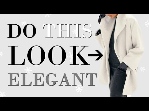 5 EASY Ways To Look More ELEGANT This Winter | Fashion Over 40