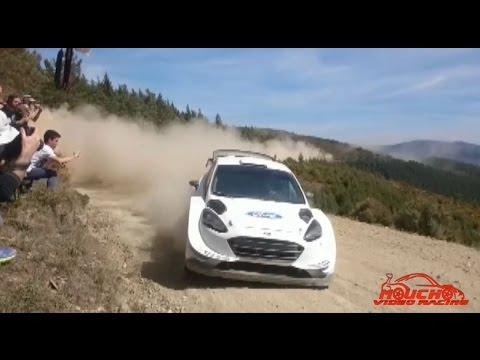 TEST M SPORT SBASTIEN OGIER FORD WRC 2017 PORTUGAL