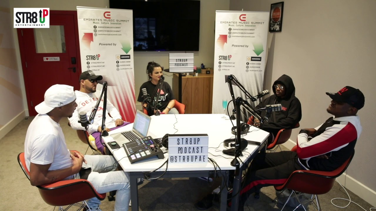 Rema, Mackie and Sean talk to Lili and Berto on STR8 Up Podcast