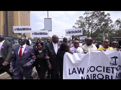 Kenya: protest over Human rights lawyer Willie Kimani's death