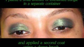 Eye Indulgence Tutorial - Enchanted Jungle Thumbnail