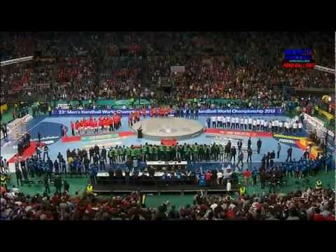 Spain x Denmark - The final of Handball World Championship 2013 - Full Match and Awards Ceremony