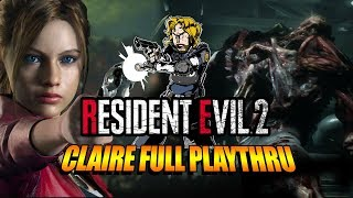 MAX PLAYS: Claire - Resident Evil 2 | 1st Full Playthru