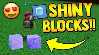 ULTRA SHINY RARE BLOCK!! ✨ *NEW* | Build a boat for Treasure ROBLOX