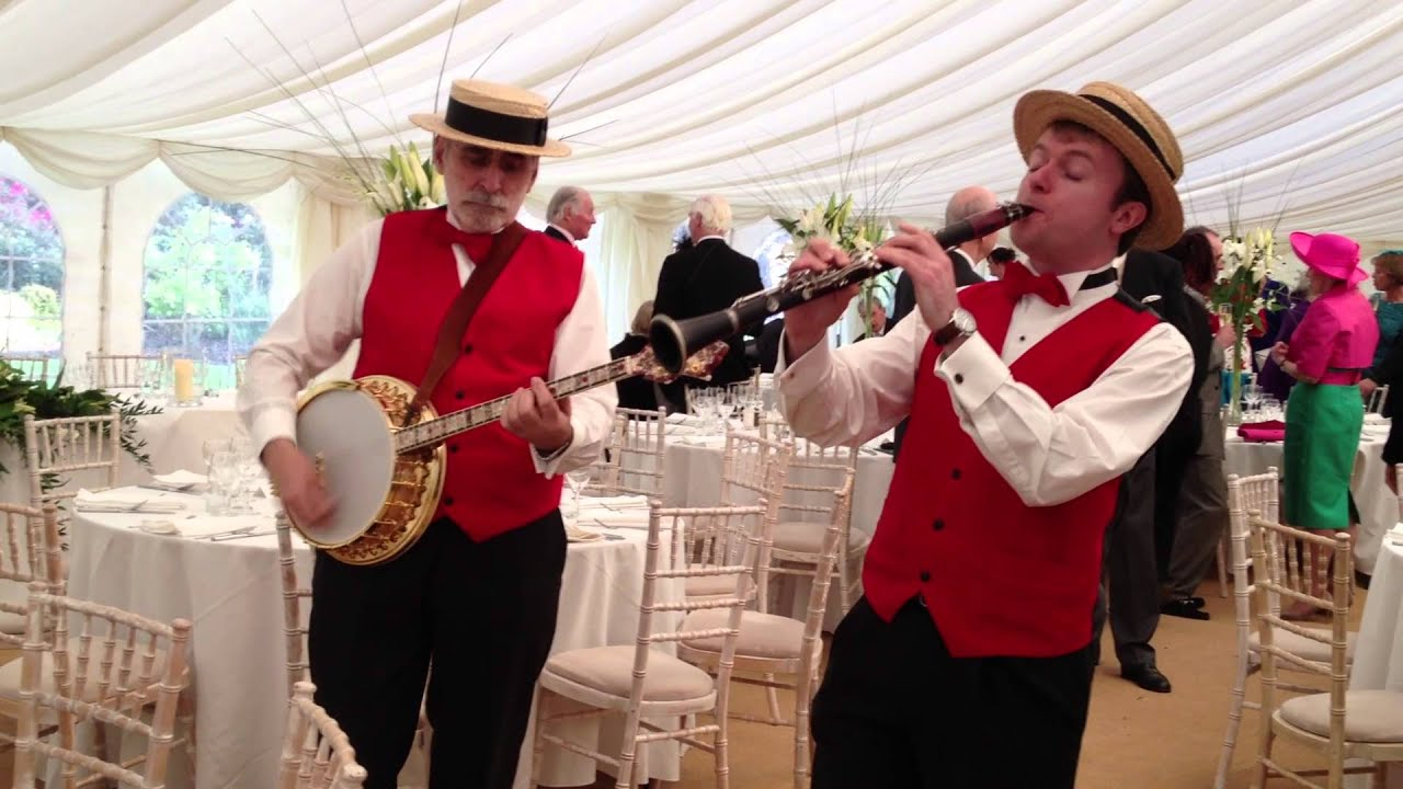Dixieland Band For Hire Wedding Strolling Jazz London