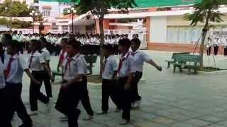 Trường THCS An Nhơn - Gò Vấp - TP.HCM - Buổi tập dượt Lễ Khai Giảng Năm Học 2015 - 2016