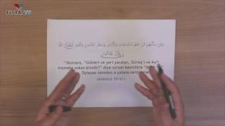 Yetişkinler için Yaz Kur'an Kursu | Ankebut 61. Ayet