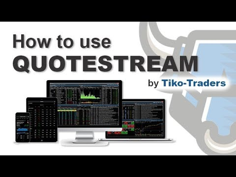 QuoteStream Applications - Desktop / Mobile / Web