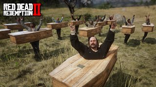 RDR2 Coffin Dance in 1899 Red Dead Redemption 2 Funny Dance