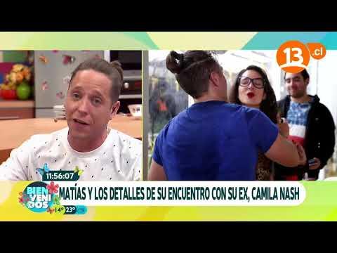 El incómodo encuentro de Matías Vega   Bienvenidos