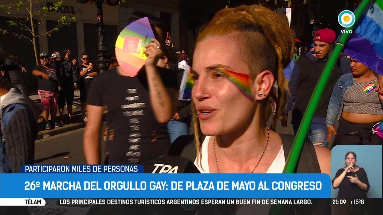 La Marcha Del Orgullo Gay En Buenos Aires Tpanoticias Youtube