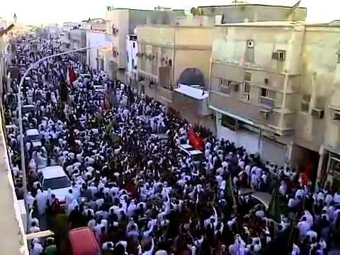 Burial of the dead parade (Ali and Nasser) Qatif 32_11_2011 m (Saudi Arabia).mp4